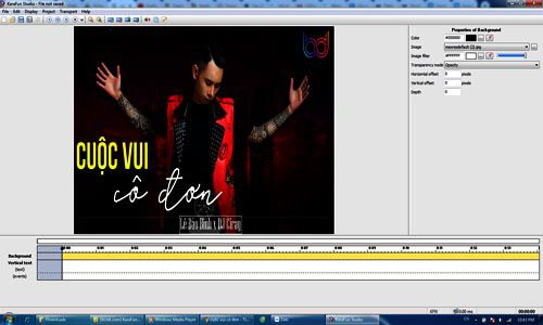 Phần mềm làm karaoke chuyên nghiệp Karafun-Studio 1.20 Full