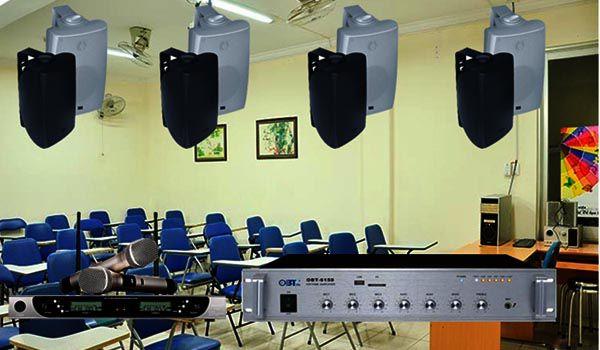 Tư vấn giải pháp âm thanh cho phòng học trường học chuyên nghiệp - Lạc Việt Audio