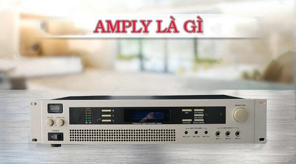 Khái niệm cơ bản Amply