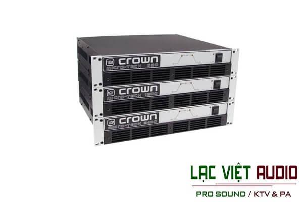 Lựa chọn cục đẩy crown bãi ở Lạc Việt audio
