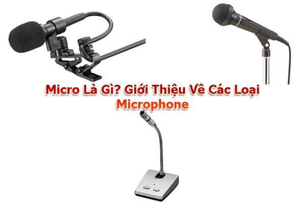 Trả lời câu hỏi Micro là gì?