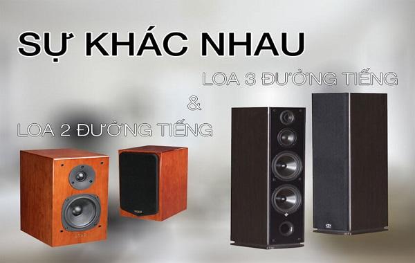 Mua loa 2 đường tiếng và loa 3 đường tiếng chất lượng tại Lạc Việt audio
