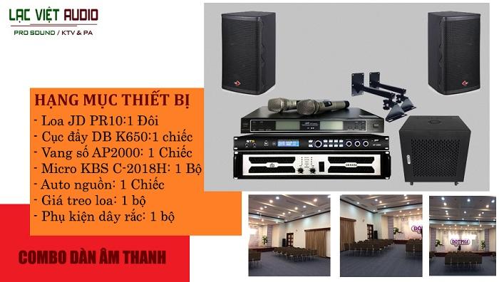 Hệ thống âm thanh hội thảo 40 - 60m2