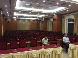Phòng hội thảo diện tích 150M2-200M2 sử dụng hãng âm thanh DB