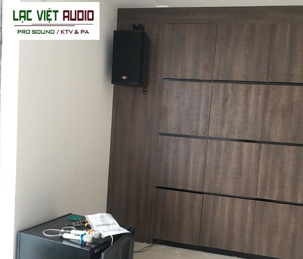 Lạc Việt audio lắp đặt hệ thống 40 - 60m2 này trong một buổi sáng là hoàn tất
