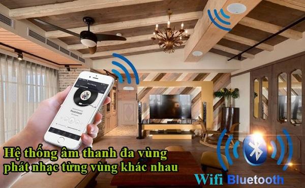 Khái niệm về loa âm trần Wifi