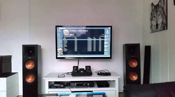 Một số cách bố trí và lắp đặt loa nghe nhạc phòng khách