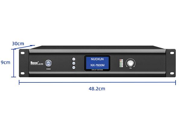 Kích thước bộ điều khiển trung tâm NUOXUN NX7600M