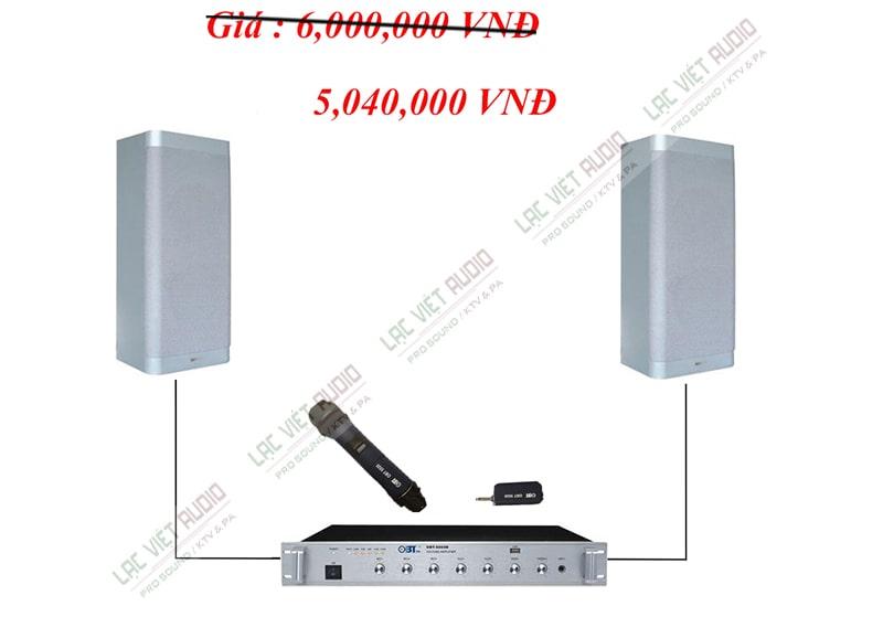 Combo 2 loa hộp DB CS 506 cho phòng học 45m2