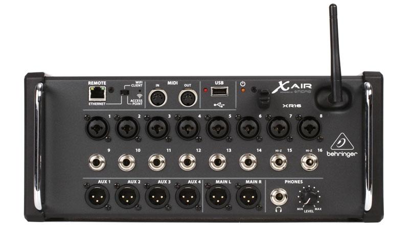 Mixer Behringer XR16