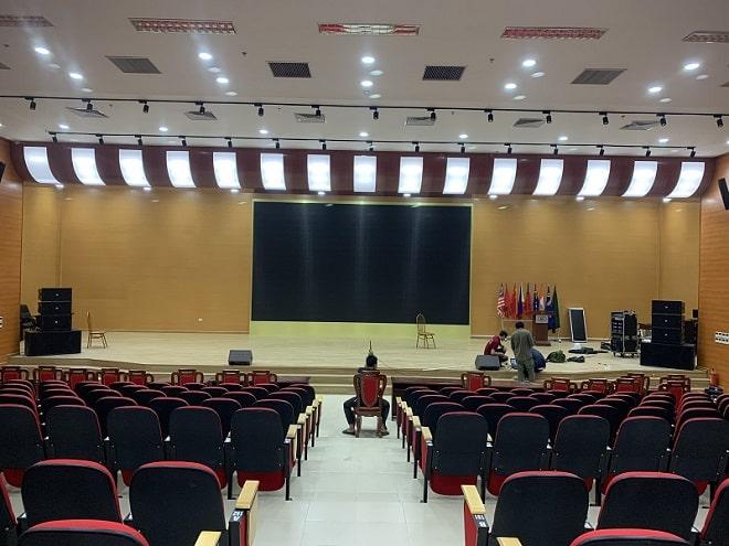 Âm thanh hội trường Đại học Công Nghiệp Dệt May Hà Nội
