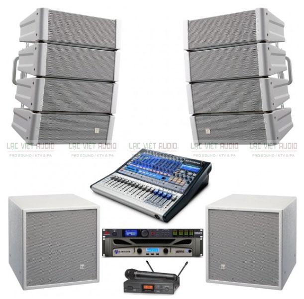 Hệ thống âm thanh hội trường TOA