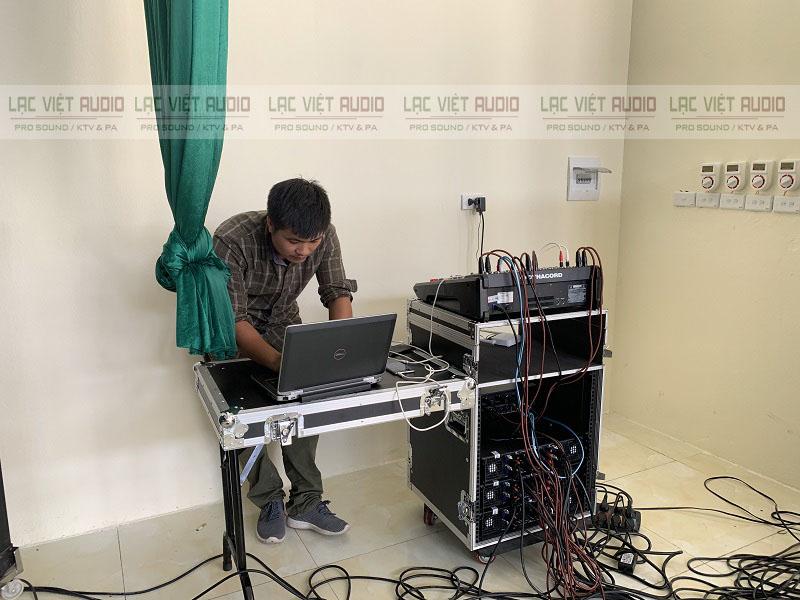 Setup hiệu chỉnh âm thanh