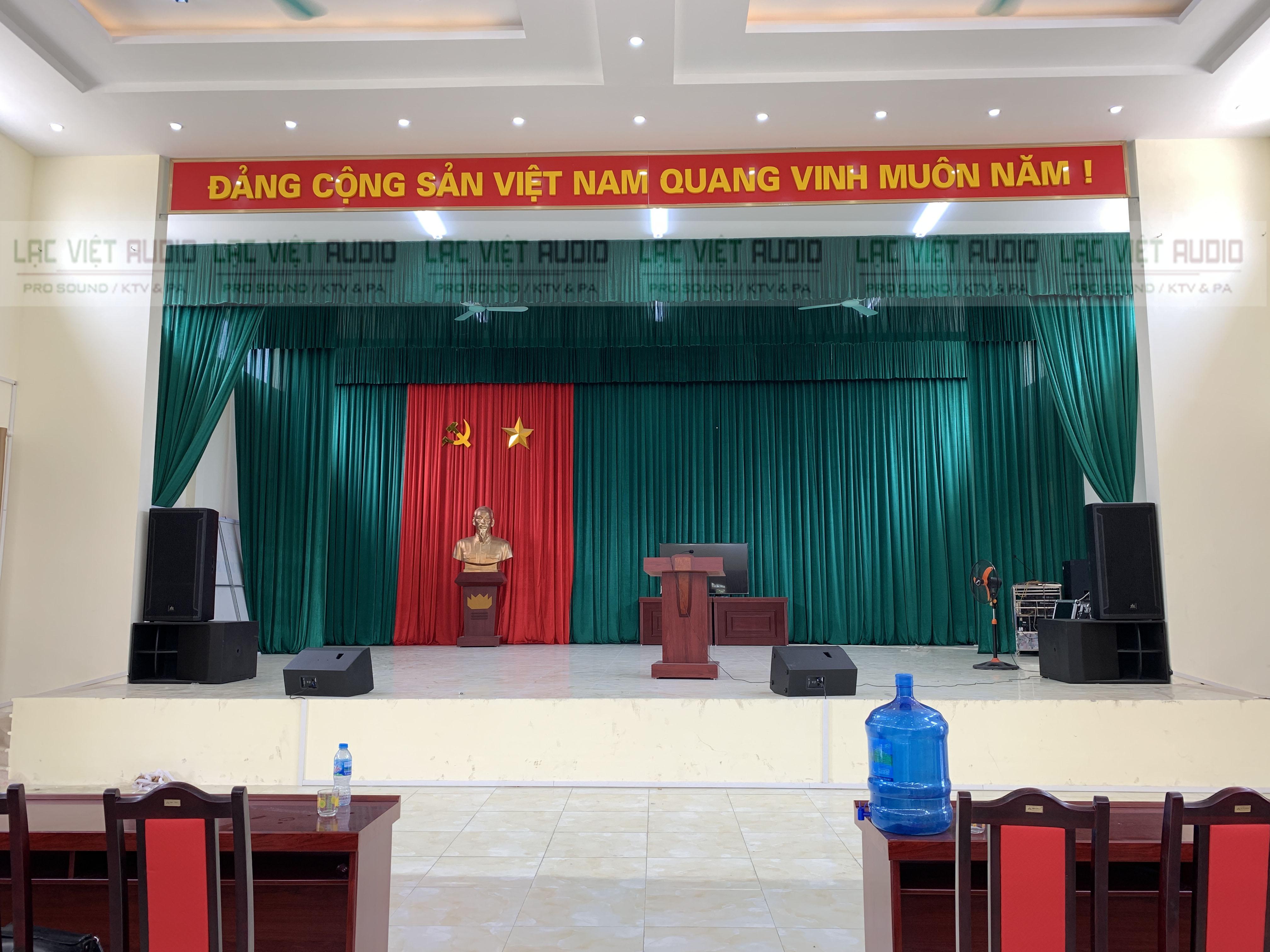 Hệ thống âm thanh cho hội trường UBND huyện Thạch Thất