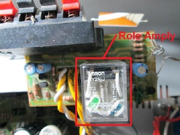 Cách sửa amply không đóng rơle do vấn đề bo mạch công suất
