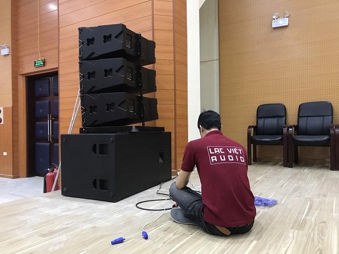 Combo bộ dàn âm thanh được Lạc Việt lắp đặt tận nơi cho khách hàng