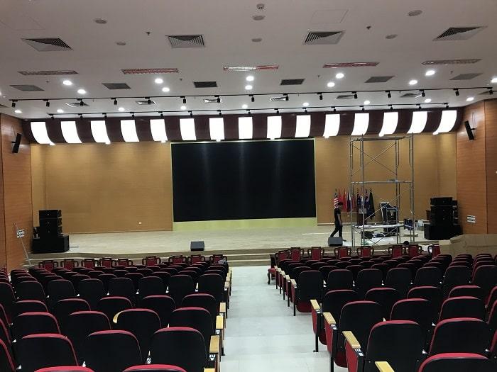 Combo dàn âm thanh hội trường phục vụ diện tích 500m2