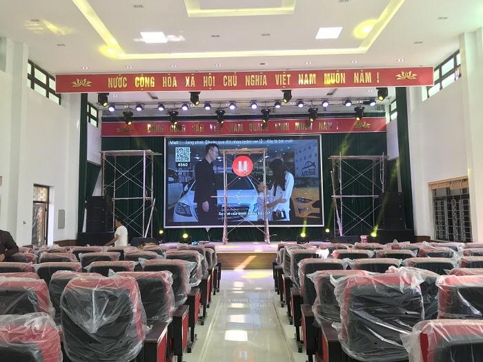 Bộ dàn âm thanh hội trường phục vụ diện tích 400m2