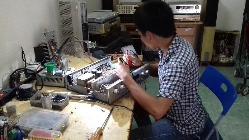 Lạc Việt - Địa chỉ sửa chữa amply uy tín tại Hà Nội, TP HCM