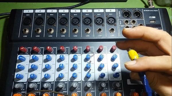 Sửa mixer tại nhà