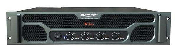 Cục đẩy 4 kênh bãi giá rẻ Korah K10 Plus