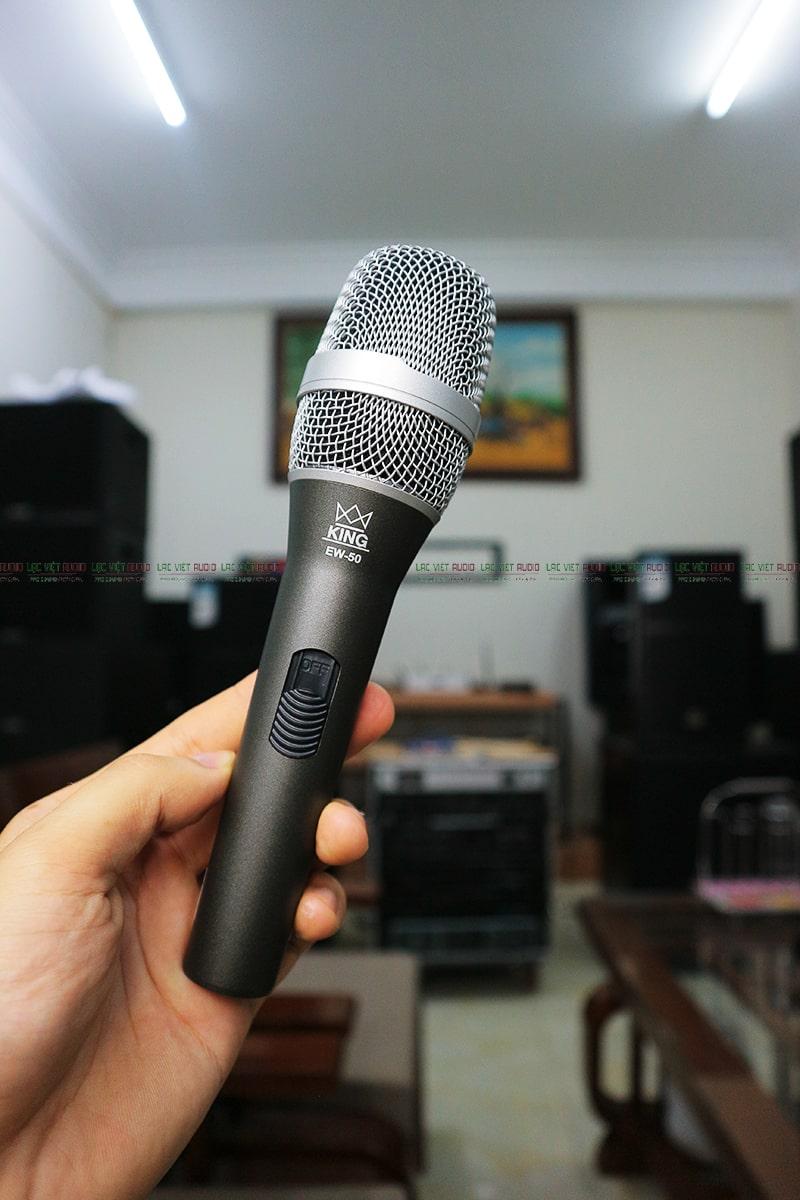 Tay mic King EW-50