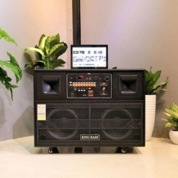 Loa karaoke có màn hình Kingbass Display 8
