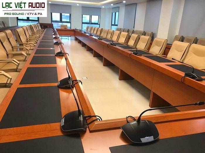 BOSCH có mặt ở rất nhiều phòng họp Lạc Việt Audo đã triển khai