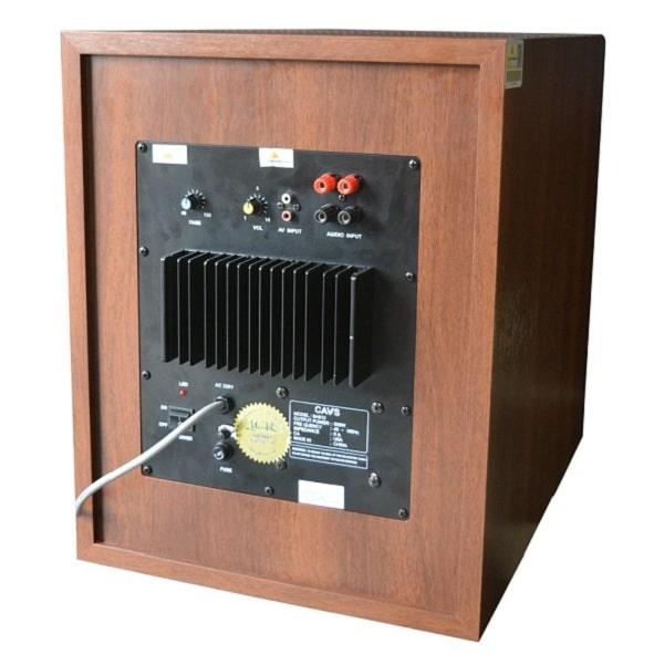 Cách cắt tần số loa sub điện (nút Frequency Cut)