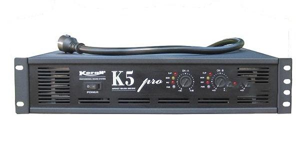 Cục đẩy 2 kênh công suất lớn tốt nhất hiện nay - Korah K5 Pro