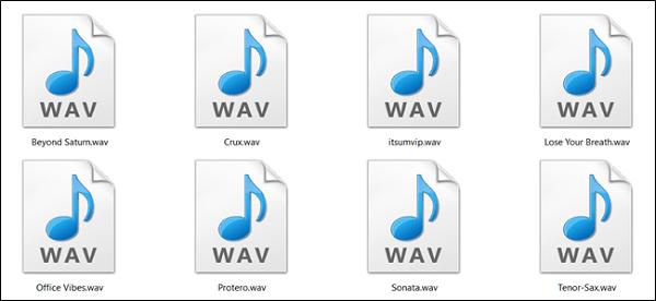 Định dạng âm thanh WAV