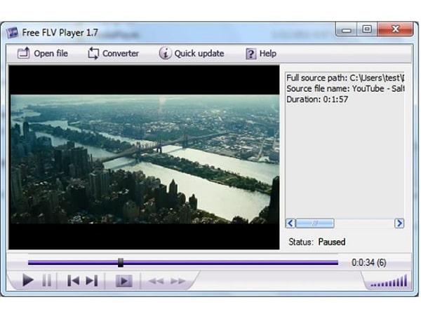 Định dạng video FLV (Flash Video Format)