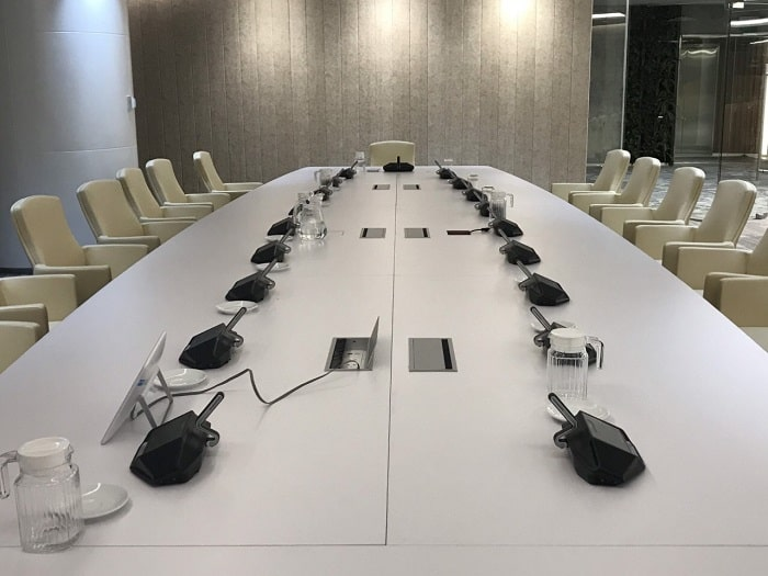 Chắc chắn khách hàng sẽ hoàn toàn ưng ý khi sử dụng hệ thống hội thảo không dây tại Lạc Việt