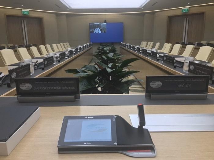 Thực tế bộ hội thảo không dây lắp đặt cho khách hàng