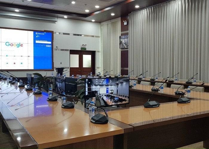 Hệ thống hội nghị không dây chuyên nghiệp