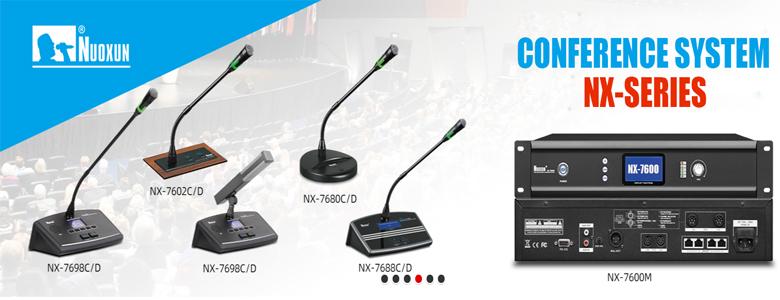 Hệ thống hội thảo Nuoxun được nhập khẩu chính hãng có đầy đủ Co, Cq
