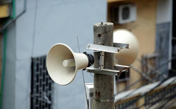 Hình loa phát thanh trong cuộc sống hiện nay