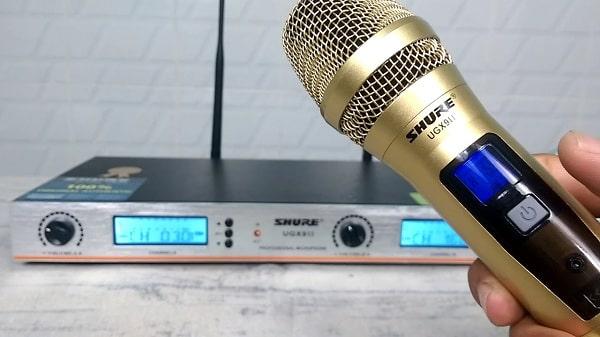 Hướng dẫn sử dụng micro không dây Shure đơn giản tại nhà