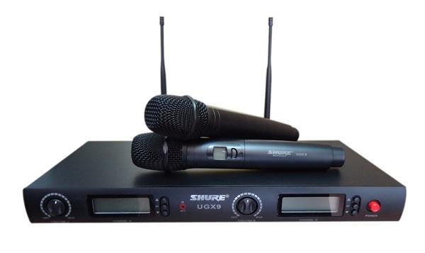Micro không dây Shure - Trào lưu micro không dây thế hệ mới