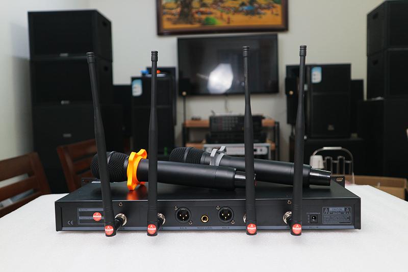 Micro không dây cao cấp King EW-500s