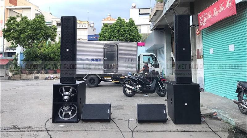 Loa cột sân khấu giá rẻ, chất lượng nhất tại Lạc Việt Audio