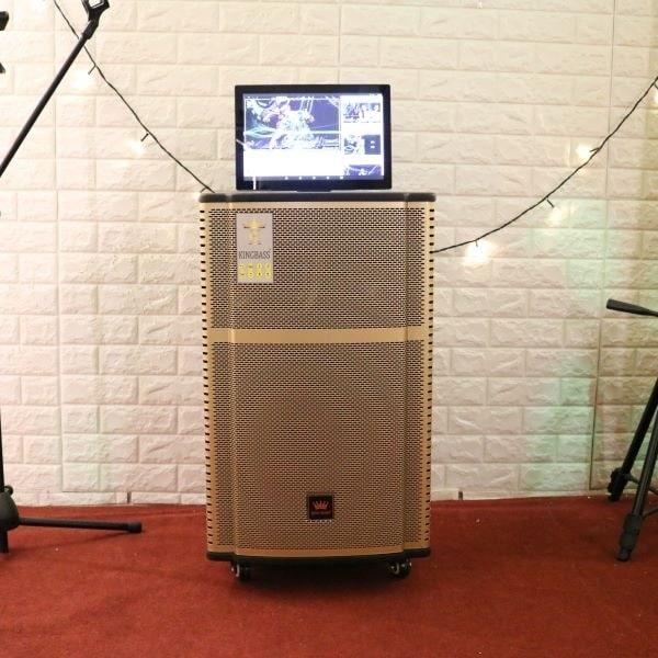 Loa karaoke có màn hình Kingbass H15
