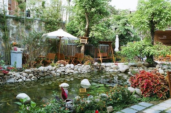 Loa sân vườn có thiết kế bắt mắt, thích hợp với nhiều không gian