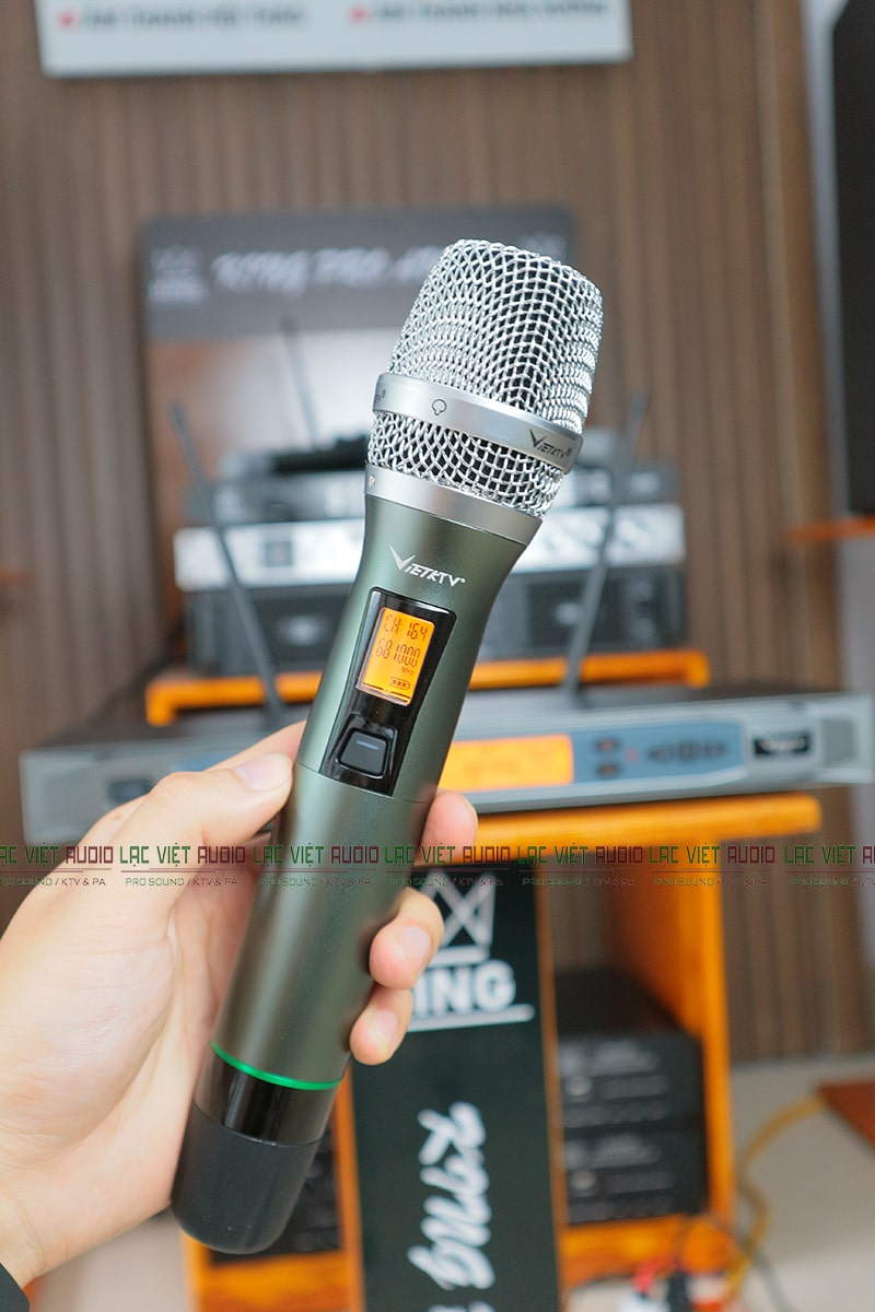 Tay mic VietKTV C200