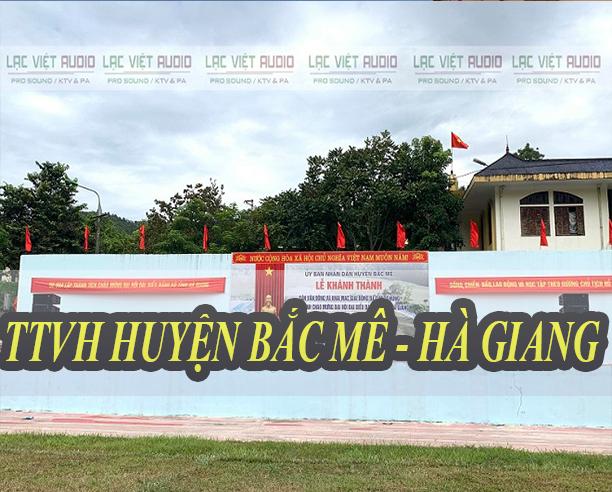 TTVH huyện Bắc Mê Hà Giang