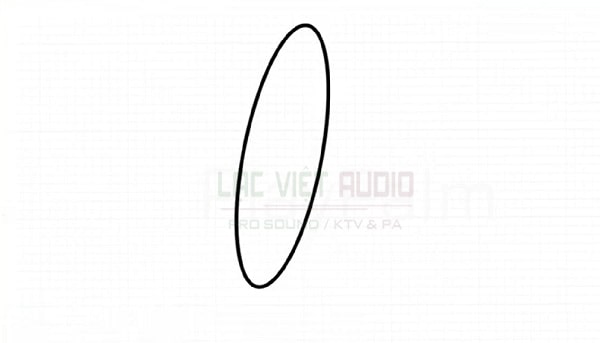 Hướng dẫn vẽ loa phát thanh - bước 1