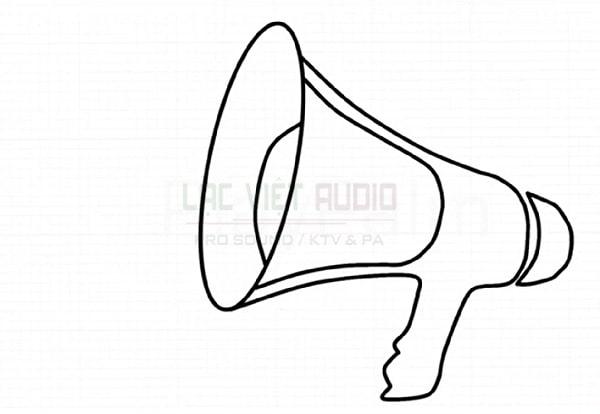 Cách vẽ loa phát thanh - bước 6
