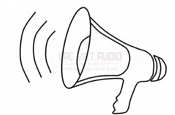 Vẽ loa phát thanh - bước 7