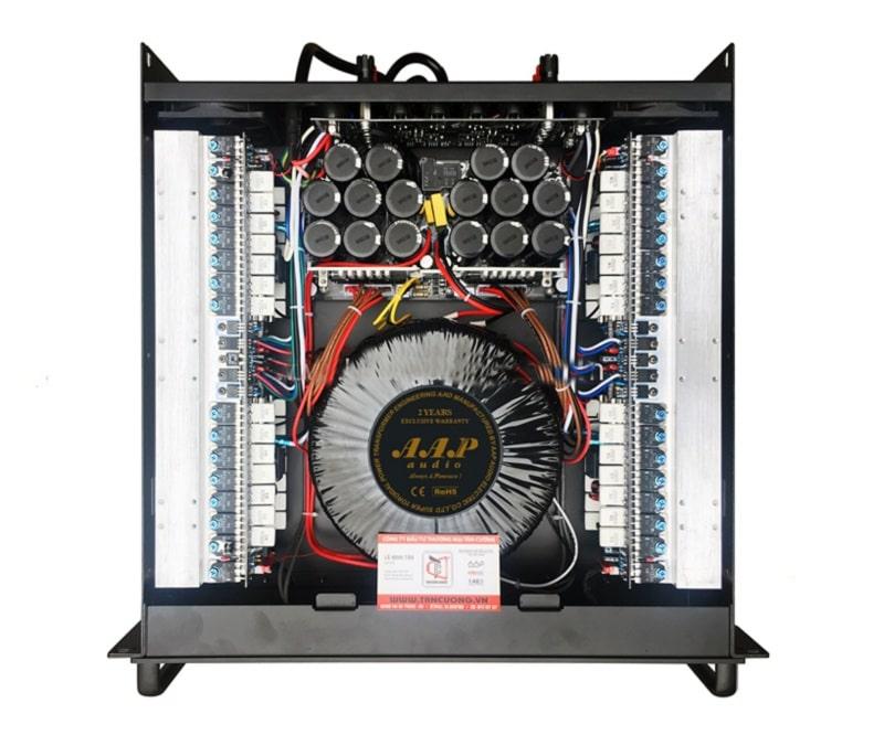 Cục đẩy AAP D4800 sở hữu những linh kiện chất lượng bên trong
