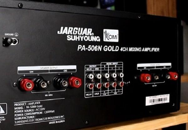 Amply Jarguar có cổng optical PA 506N